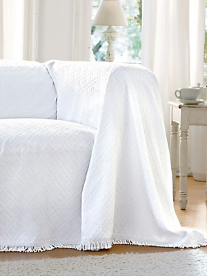 Peter Hahn - Le jeté pour fauteuil et lit simpl, env. 160x190cm