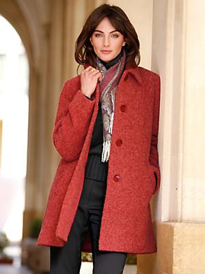 Peter Hahn - Le manteau 3/4 en laine vierge et alpaga
