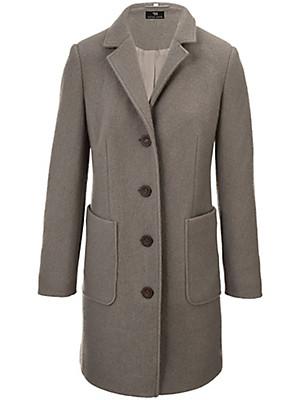 Peter Hahn - Le manteau drap de laine