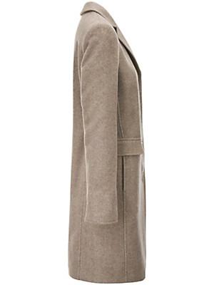 Peter Hahn - Le manteau en pure laine vierge
