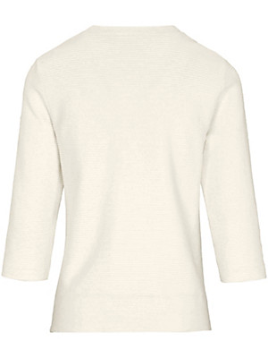 Peter Hahn - Le T-shirt en jersey à manches 3/4