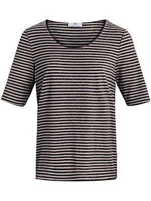 Peter Hahn - Le T-shirt rayé manches courtes