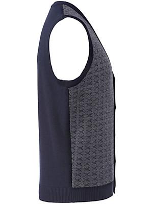 Peter Hahn - Mouwloos vest van 100% scheerwol