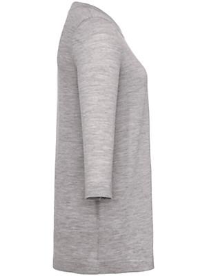 Peter Hahn - Pullover met 3/4-mouwen van 100% scheerwol