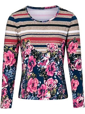 Peter Hahn - Shirt, met ronde hals en 3/4-mouwen