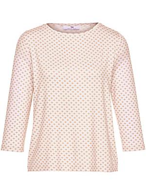 Peter Hahn - Shirt met ronde hals en 3/4-mouwen