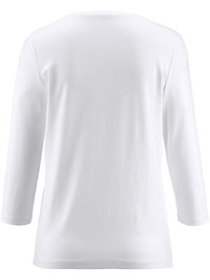 Peter Hahn - Shirt met ronde hals en met 3/4-mouwen
