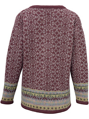 SAGA - Vest van 100% scheerwol