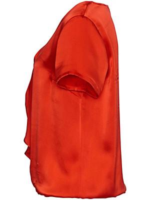 Uta Raasch - Blouse met korte mouwen van 100% zijde