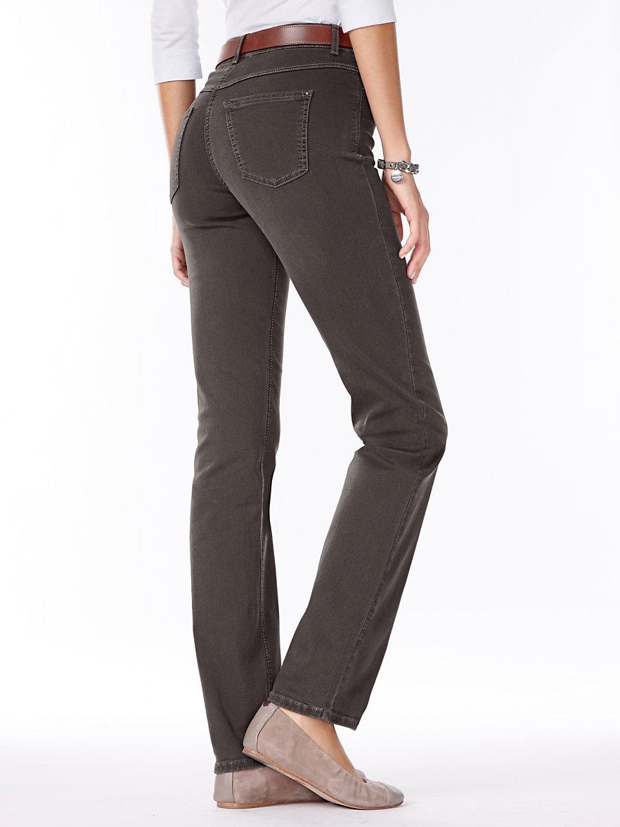 mac jeans 30 inch bruin denim. Black Bedroom Furniture Sets. Home Design Ideas