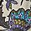 zandkleur/lila/multicolour