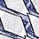 blauw/grijs/ecru