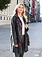 Anna Aura - Le manteau en cuir nappa