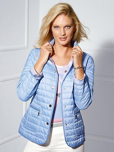 Basler - Keerbaar gewatteerd jasje met staande kraag