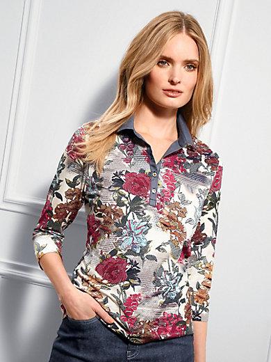 Basler - Poloshirt met 3/4-mouwen