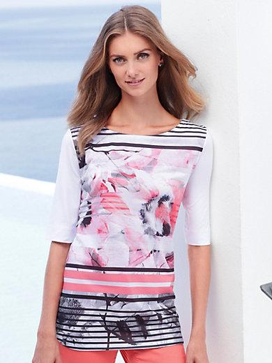 Betty Barclay - Shirt met boothals en halflange mouwen