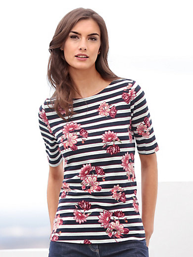 Betty Barclay - Shirt met verlengde korte mouwen en boothals