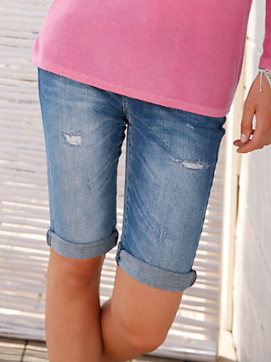 FLUFFY EARS - Jeans shorts