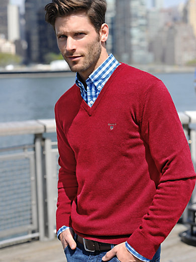 GANT - Le pull en pure laine