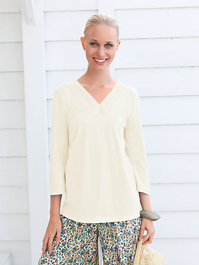 Green Cotton - Shirt met V-hals