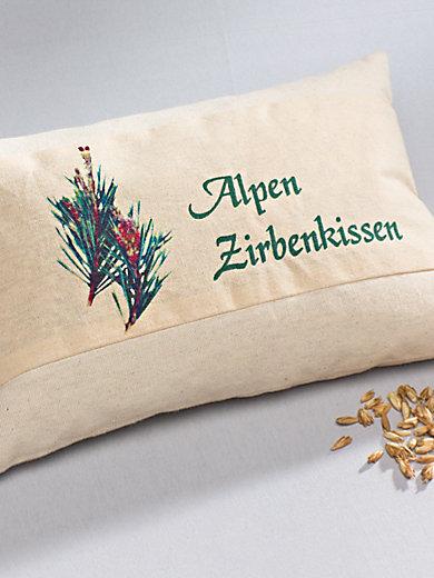 Himmelgrün - Le coussin alpin, 30x20cm