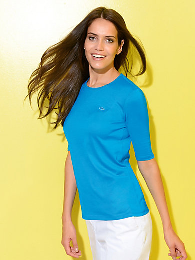 Lacoste - Le T-shirt encolure ras-de-cou en pur coton