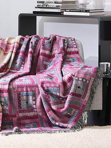 Lanerossi - Le plaid en pure laine vierge, env. 130x190cm