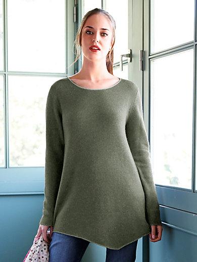 LIEBLINGSSTÜCK - Le pull long en pure laine vierge
