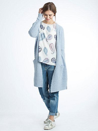 LIEBLINGSSTÜCK - Longue veste tendance en maille bouclée