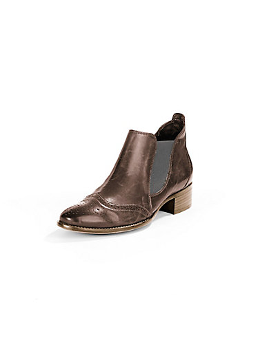 Paul Green - Les bottines en cuir nappa de veau