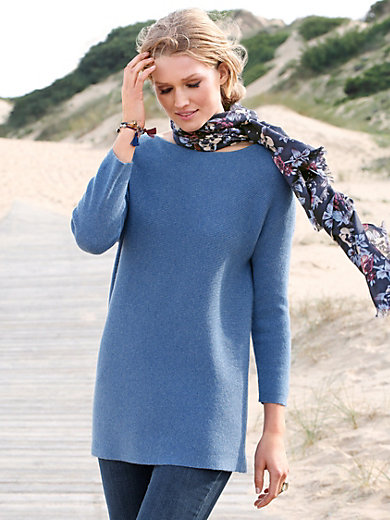 Peter Hahn Cashmere - Le pull long 100% cachemire