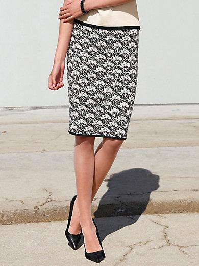 Peter Hahn - La jupe jacquard en pur coton, ligne droite