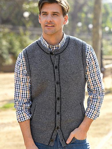 Peter Hahn - Le gilet sans manches en pure laine vierge