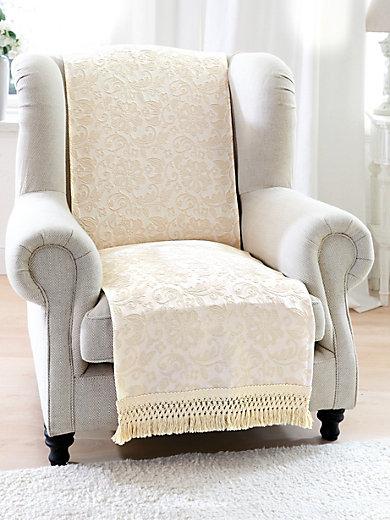 Peter Hahn - Le jeté pour fauteuil, env. 50x200cm
