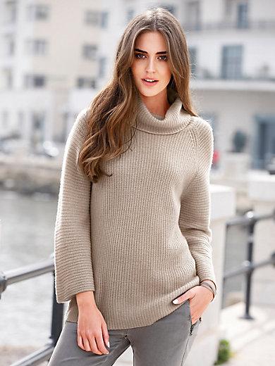 Peter Hahn - Le pull en laine vierge à col roulé
