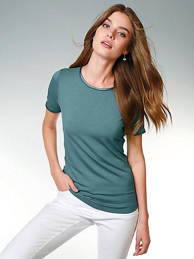 Peter Hahn - Le T-shirt ras de cou et manches courtes