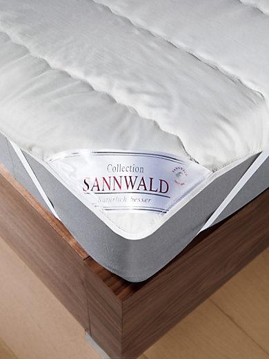 Sannwald - Le surmatelas en laine vierge, 100x200cm