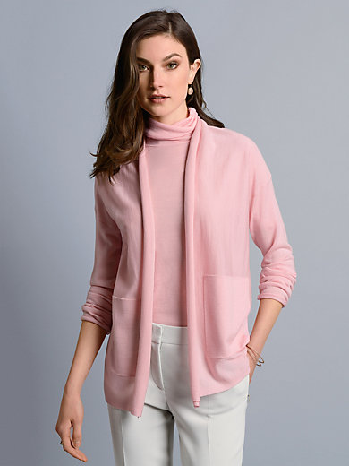 St. Emile - La veste en maille en pure laine vierge