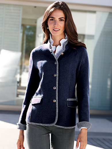 Steinbock - La veste en pure laine vierge