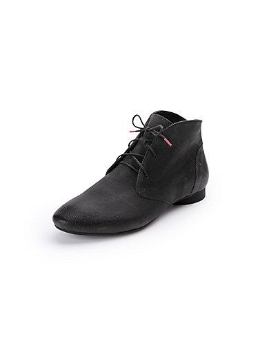 Think! - Les bottines lacées en cuir, modèle Guad