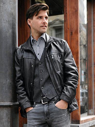 TRAPPER - La veste en cuir