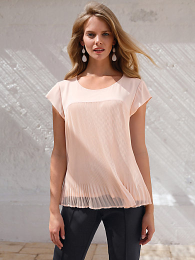 Uta Raasch - Le T-shirt-chemisier à mancherons volantés